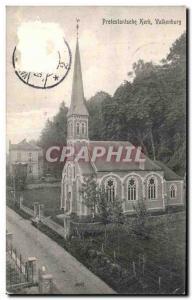 Postcard Old Protestantsche Kerk Valkenburg