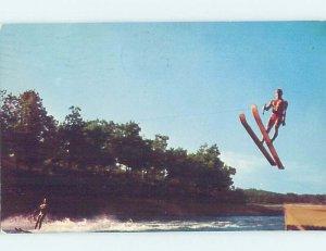 Chrome SURFING SCENE Lake Ozark Missouri MO AG6004