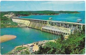 Missouri, Bagnell Dam and Lake of the Ozarks. Unused dated early 50's
