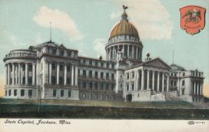 JACKSON , Mississippi, 1900-10s; State Capitol