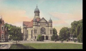 Indiana Notre Dame Holy Cross Chapel Of Loretto Saint Marys Handcolored Alber...
