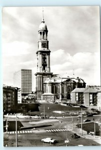 Hamburg Germany St. Michaeliskirche Vintage 4x6 Photo Postcard E02