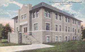 Kansas McPherson Gymnasium Building McPherson College Curteich