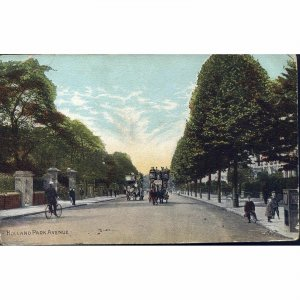 National Series Postcard 'Holland Park Avenue'