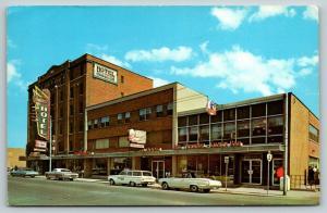 Cornwall Ontario~1960s Company Station Wagon~Hotel Cornwallis~Bus Terminal~Cafe