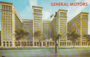 Michigan Detroit The General Motors Building