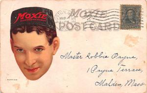 Advertising Post Card Moxie 1909