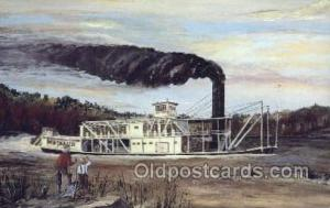 Bertrand Steamer, Steam Boat, Steamboat, Ship, Ships, Postcard Post Cards  Be...