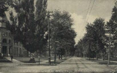 West College St. Oberlin OH 1909