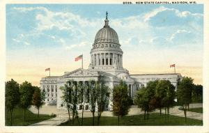 WI - Madison. State Capitol