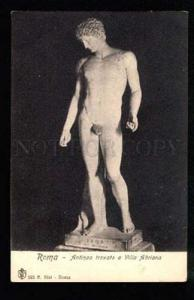 034884 NUDE Man. Young Sportsman ROMA Vintage photo PC