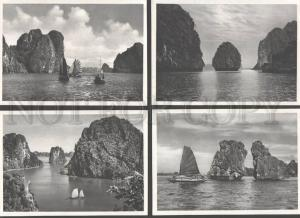 094055 VIETNAM Gulf Ha-Long collection of 8 postcards