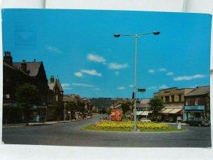 Vintage Postcard Brook Street Ilkley Yorkshire