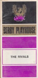 The Rivals Richard Sheridan Derby Playhouse 1970s Theatre Programme