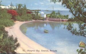 Mangrove Bay at Somerset, Bermuda - pm 1952