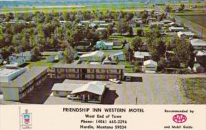 Montana Hardin Friendship Inn Western Motel