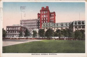 MONTREAL General Hospital, Quebec, Canada, PU-1929