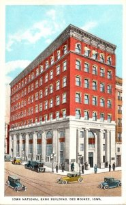 Iowa Des Moines Iowa National Bank Building Curteich