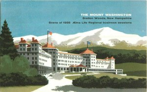 Postcard The Mount Washington, Bretton Woods, NH Posted 1958
