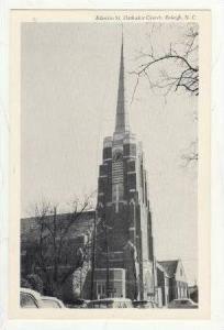 Edenton Street, Methodist Church (Exterior), North Carolina, 1910-1930s