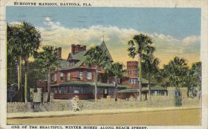 Burgoyne Mansion, One of the Beautifuk Winter Homes along Beach Street, Dayto...