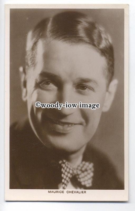 b3585 - Film Actor - Maurice Chevalier -  postcard