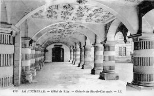 France La Rochelle Hotel de Ville Galerie du Rez de Chaussee