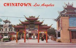 California Los Angeles Chinatown Gateway