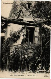 CPA ROTHÉNEUF - L'Ermite chez lui (226881)
