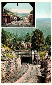 Massachusetts North Adams Hoosac Tunnel West Portal Detroit Publishing