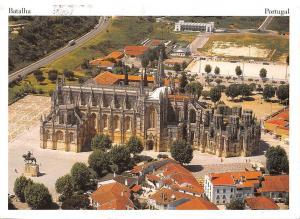 Portugal Batalha Monastery - Aerial View