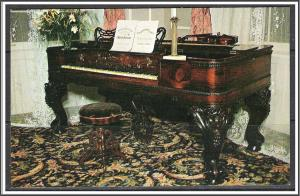 Kentucky, Bardstown Piano Stephen Foster