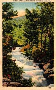 Virginia Shenandoah National Park Rapidan River