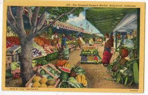 Farmers Market, Hollywood Cal