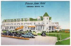 Virginia Beach, Va, Princess Anne Hotel