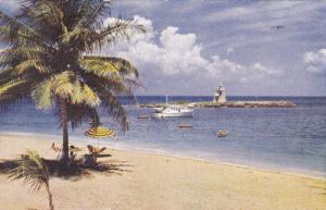 Beach and Tower Isle Hotel, Jamaica, 1920-40s PU