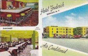 New York Endicott Hotel Frederick Interior Dining Room & Bar