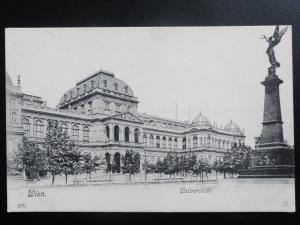Austria: WEIN Vienna, Universitat c1906 - Old Postcard