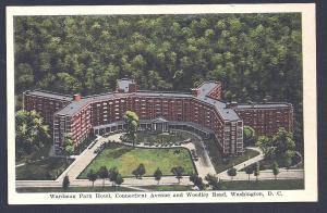 Wardman Park Hotel Washington DC unused c1940's