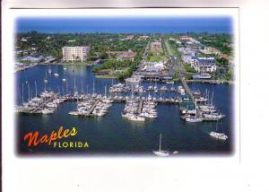Many Boats at Naples City Dock, Florida, Photo Jim Abts