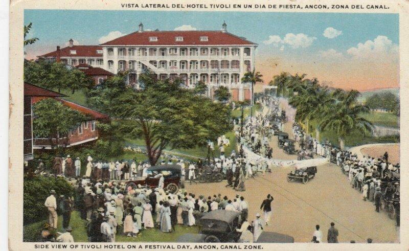 Tivoli Hotel , Panama Canal , 00-10s ; Festival Day