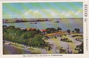 The Center Pier And Park At Yokohama, Japan, Asia, 1900-1910s