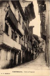 CPA Espagne FUENTERRABIA - Calle de Pampinot (304669)