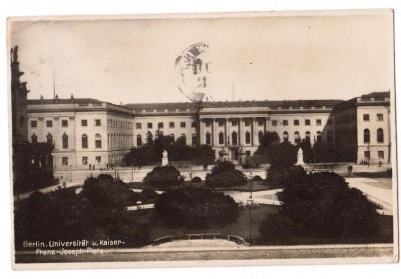 Berlin. Universitat u. Kaiser