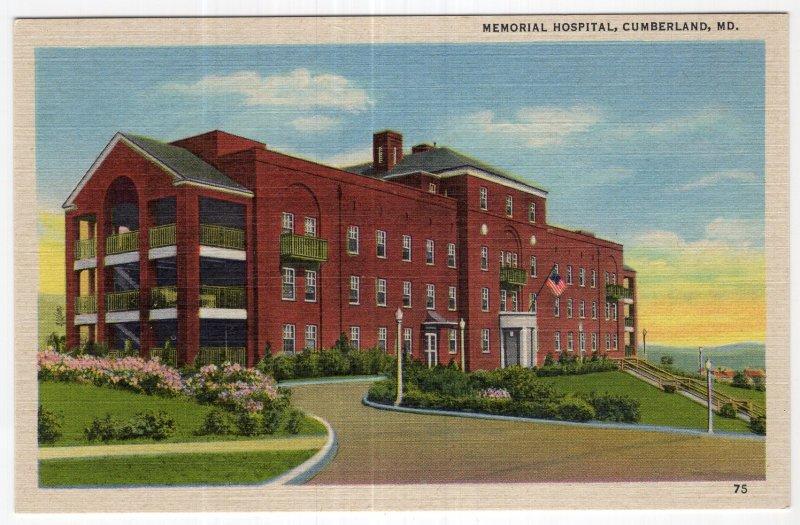 Cumberland, MD, Memorial Hospital