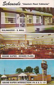 Michigan Grand Rapids & Kalamazoo Schensul's Cafeterias