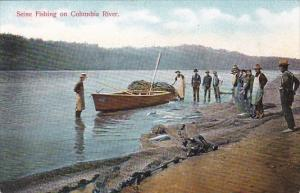 Commercial Seine Fishing On Columbia River