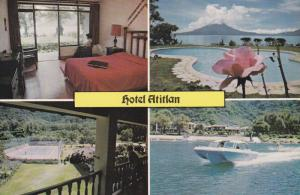Panajachel, Soloia , Guatemala , 50-70s ; Hotel Atitian
