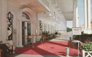10717 Porch of the Grand Hotel, Mackinac Island, Michigan 1958