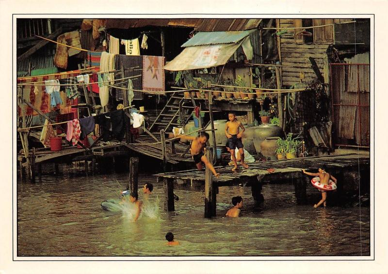 BF1191 canals still remain the focal point of milions of thai lives  Thailand